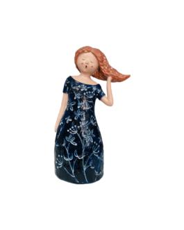 Escultura Lady Bird em Resina