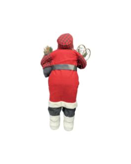 Boneco Papai Noel com Esqui C