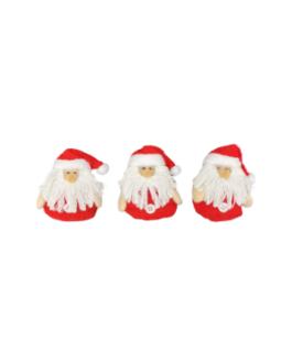 Papai Noel para Pendurar Vermelho com gorro
