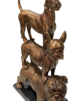 Pirâmide de Cachorros Cobre