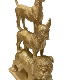 Pirâmide de Cachorros Dourado